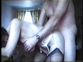 saggy bossom - old banged from behind