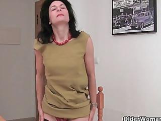 hirsute elderly emanuelle inside brown nylons