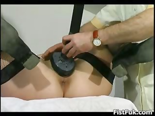 grownup fatty gets her slut fisted part5