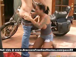 mature nude brunette slut outside near a bike