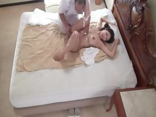 japanese lady reiko obtains a sweet oiled up