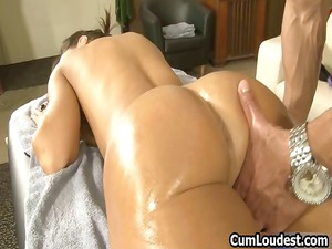 busty brunette lady obtains a hot erotic part4