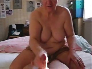 my bitch cougar aunt jerking my penis