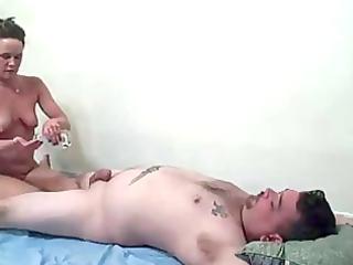 fresh mature babe massage and drill