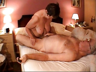 elderly handjob massage