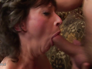 older  bunch  porn gathering goes horny