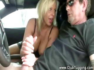 an fresh milf makes a dick burst