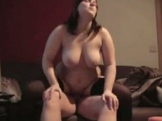 plump lady having fuck with dude
