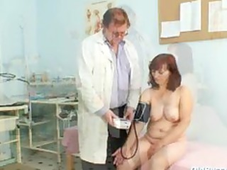 zita mature belle gyno speculum exam at clinic