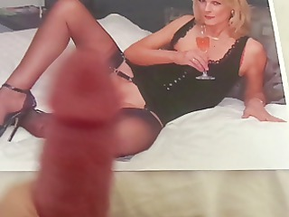 tribute to a super milf with wonderful pantyhose