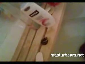 nephew voyeuring my shower masturbation