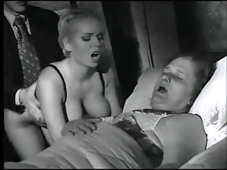 lady takes plowed on her ladies death bedstead