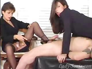 fetish bitches masturbating with a penis