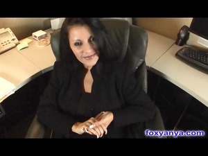 busty boss acquires horny sperm