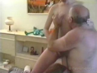 2 homosexual woman amateur + grandpa 01