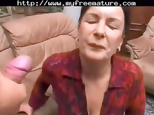 granny hairy anal older