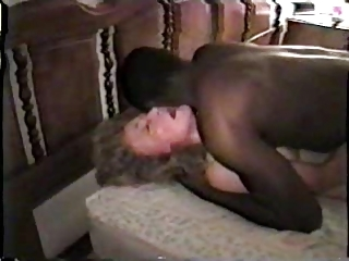nympho cougar colorless lady with dark boyfriend