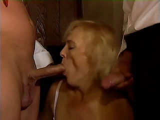 german granny cougar dual penetration