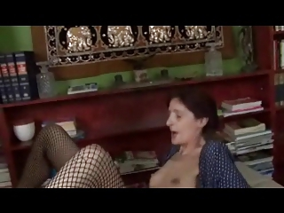 lean saggy little tits elderly into fishnets