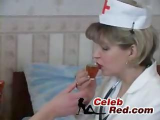 grownup medic pierce amateur patient  mature