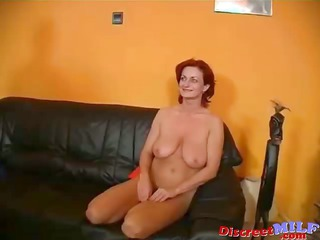 horny mature babe cuckold husband and young