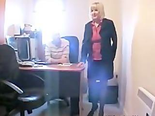 grown-up american blond licks and fucks 2 more