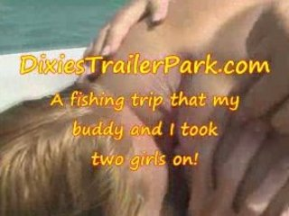 a swinger teen, a lady and a fishing trip