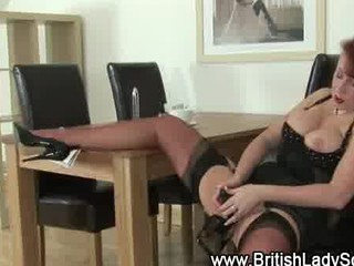 grownup pantyhose redhaired acquires nasty