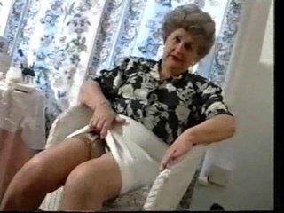 pleasing elderly elderly into pantyhose