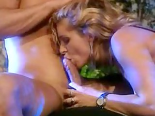 american mature babe and two dudes