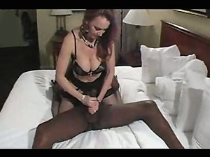 delightful lady fresh mature housewife and her