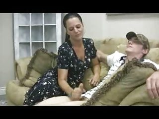 staceys woman - veronica cfnm handjob