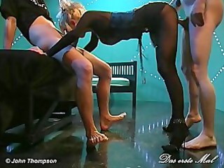 euro bitch takes her ass well drilled