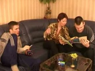 extremely impressive russian milf obtains two