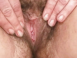 cougar woman hedvika bushy kitty vibrator piercing