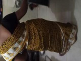 copulate my maiden jyoti inside satin saree