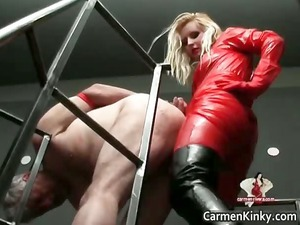 two awesome horny beautiful body latex lady