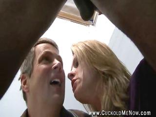 cuckold husband watches milf hotwif