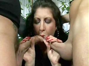alessia roma double penetration threesome