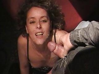 super lady licks off 18 men at the swingers disco