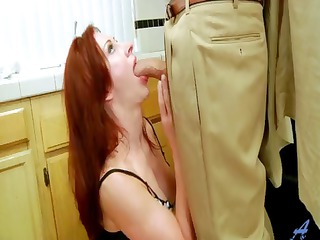 young redhead milf fucked in shoes