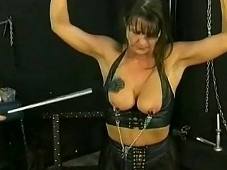 bdsm session with awesome grownup slave part 4