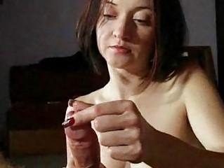 mature babe maiden gives super handjobs