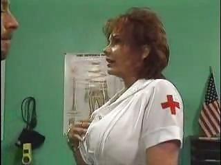 older  medic pierced into hospital