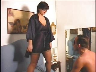 cougar bbw f......man with strap on