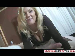 hot woman gives super  handjob