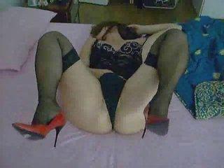 my woman pushing dildo