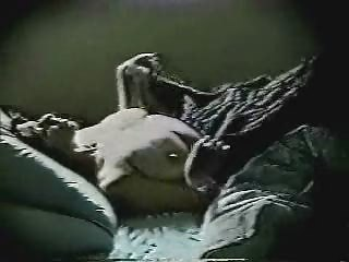 milf go to bedstead and... masturbates. hidden cam