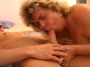 giant beautiful babe granny with busty lad part 1
