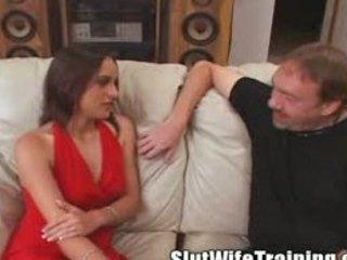 voyeur lover sends maiden to bitch training